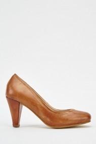 Pantofi cu toc 625141-237875 Maro