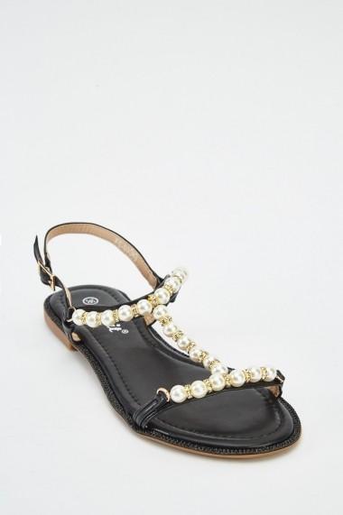 Sandale plate 625719-239058 Albastru