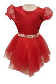 Rochita rosie 0-3 ani Special Red Dress