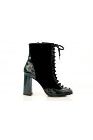 Botine Thea Visconti Gh 693/17/682 negru, verde