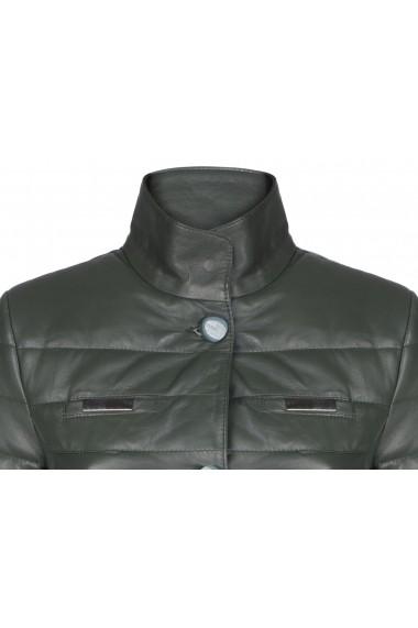 Jacheta din piele Giorgio di Mare GI107945 Verde - els