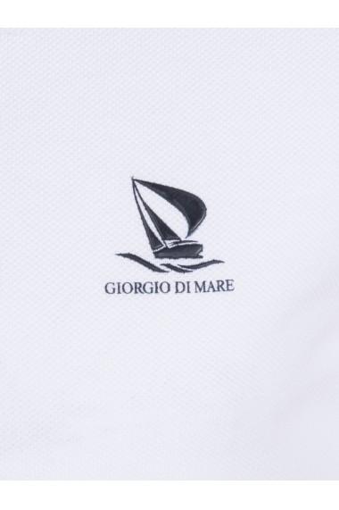 Tricou Polo Polo Giorgio di Mare GI1357947 Alb