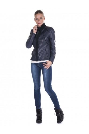Jacheta din piele Giorgio Di Mare GI1542062 Albastru