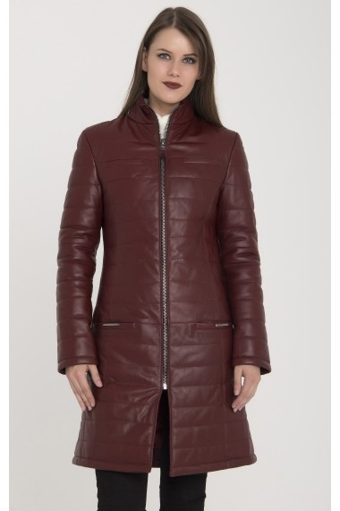 Jacheta din piele Giorgio di Mare GI1581328 Bordo