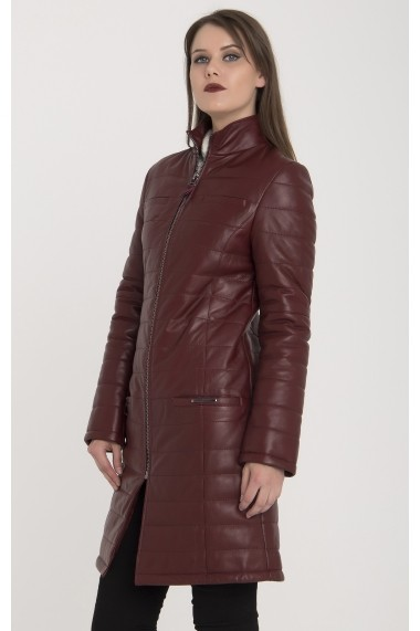 Jacheta din piele Giorgio di Mare GI1581328 Bordo - els