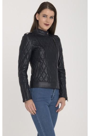 Jacheta din piele Giorgio di Mare GI1601281 Bleumarin