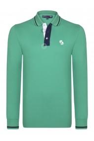 Bluza Polo Giorgio di Mare GI1914761 Verde