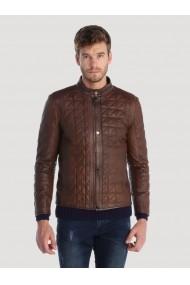 Jacheta din piele Giorgio di Mare GI2537771 Maro