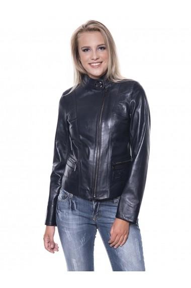 Jacheta din piele Giorgio Di Mare GI3600581 Bleumarin