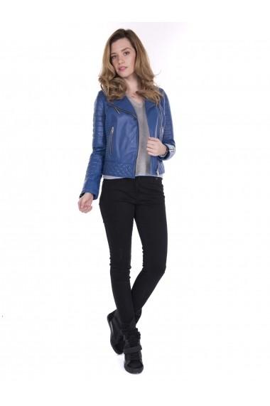Jacheta din piele Giorgio Di Mare GI3603754 Albastru