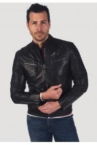 Jacheta din piele Giorgio di Mare GI3752488 Negru