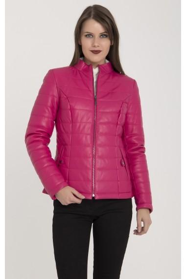 Jacheta din piele Giorgio di Mare GI3814396 Roz