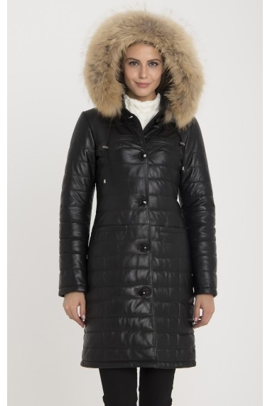 Jacheta din piele Giorgio di Mare GI4288105 Negru