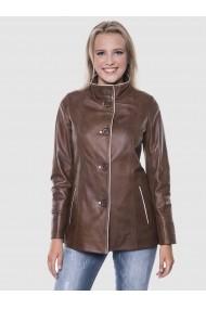 Jacheta din piele Giorgio di Mare GI4644557 Maro