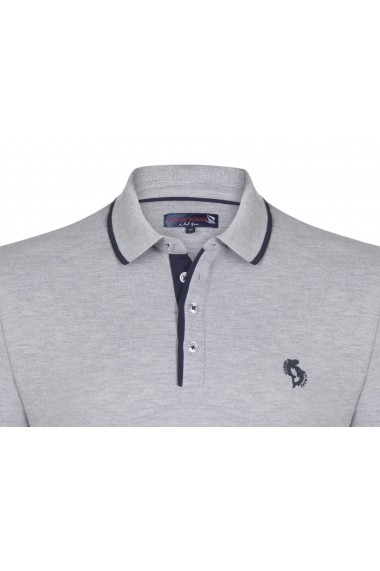 Tricou Polo Polo Giorgio di Mare GI5123154 Gri