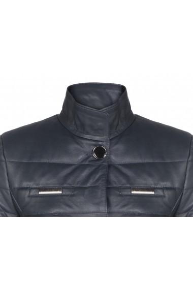 Jacheta din piele Giorgio di Mare GI5954236 Bleumarin
