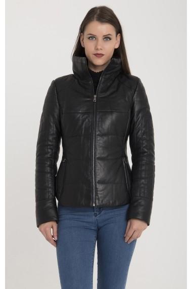 Jacheta din piele Giorgio di Mare GI6023916 Negru