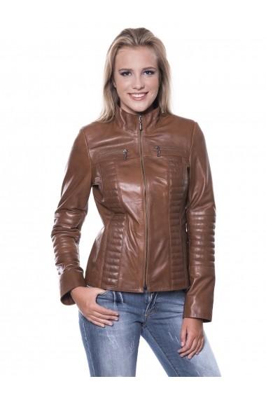 Jacheta din piele Giorgio Di Mare GI6481814 Maro