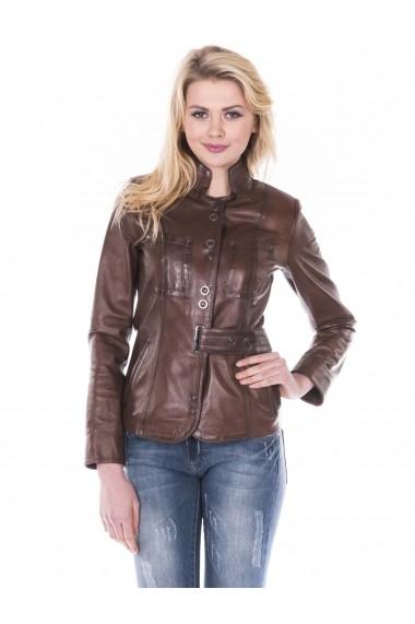 Jacheta din piele Giorgio Di Mare GI6701887 Maro