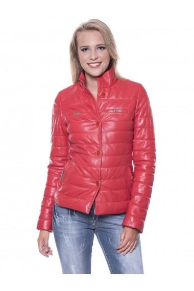 Jacheta din piele Giorgio Di Mare GI7199961 Rosu