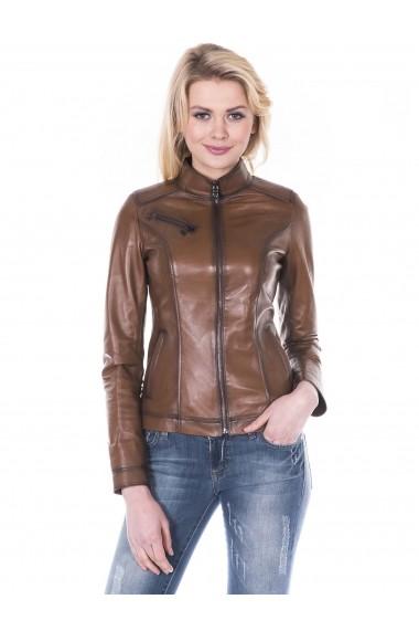 Jacheta din piele Giorgio Di Mare GI7296501 Maro