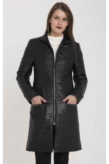 Jacheta din piele Giorgio di Mare GI7566059 Negru