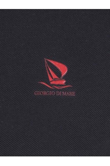 Tricou Polo Polo Giorgio di Mare GI7766936 Negru