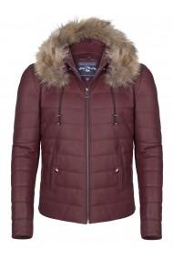 Jacheta din piele Giorgio di Mare GI8488298 Bordo