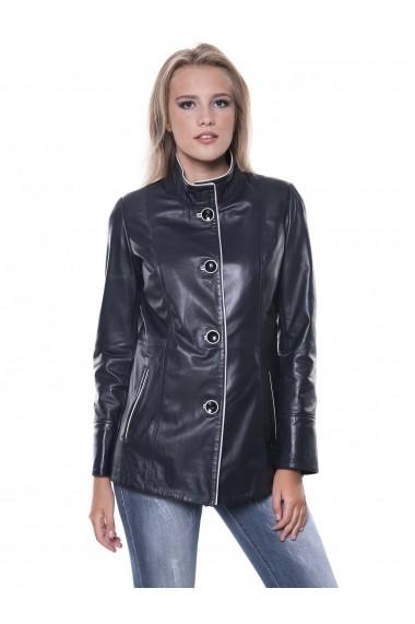 Jacheta din piele Giorgio Di Mare GI9072424 Bleumarin