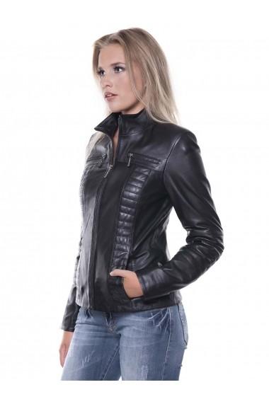 Jacheta din piele Giorgio Di Mare GI9151879 Negru