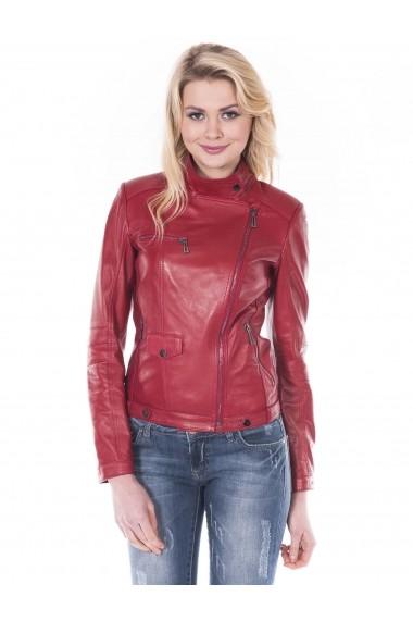 Jacheta din piele Giorgio Di Mare GI9370653 Rosu