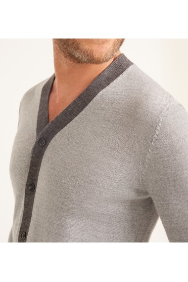 Cardigan Rodier GLB-5HG0065-light grey Gri