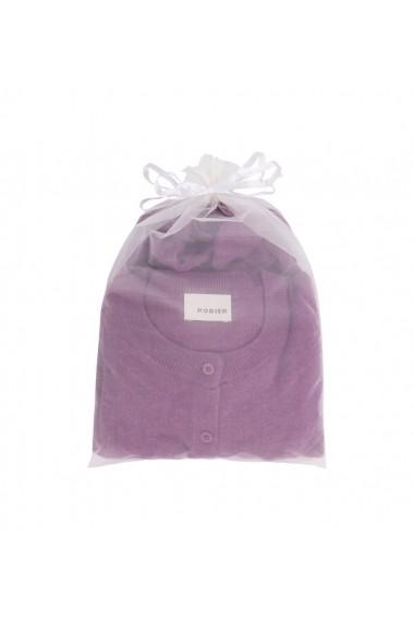 Set pulover si cardigan Rodier GLB-7EV8048-magenta