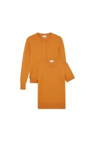 Set pulover si cardigan Rodier GLB-7EV8048-sunflower