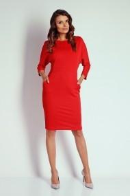 Rochie NAOKO GLB-AT10 RED rosie - els