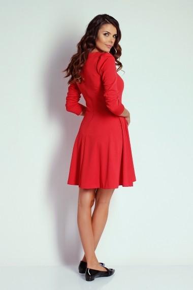 Rochie NAOKO GLB-AT20 RED Rosu - els