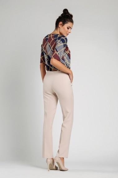 Pantaloni NAOKO AT249 Bej - els