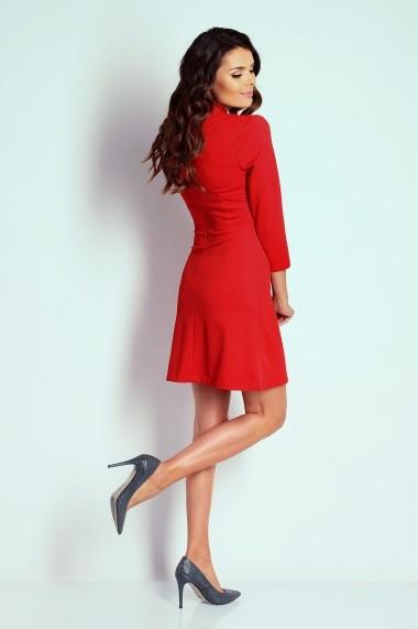 Rochie NAOKO GLB-AT2 RED Rosu - els