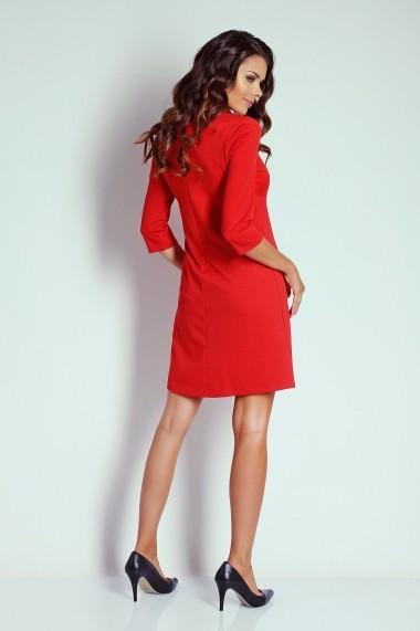Rochie NAOKO GLB-AT3 RED Rosu - els
