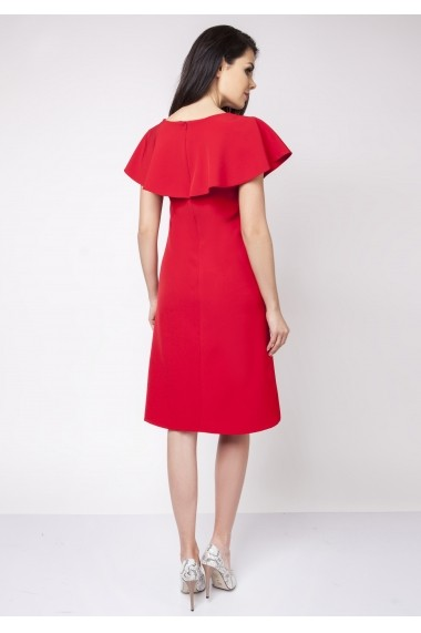 Rochie NAOKO GLB-AT87 RED Rosu