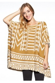 Poncho Cosmo GLB-COSMO 7013 MUSTARD Galben