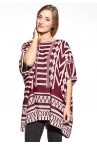 Poncho Cosmo GLB-COSMO 7013 RED Rosu