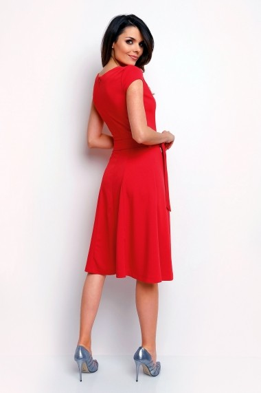 Rochie FOGGY FG1 RED rosie - els