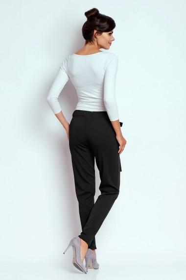 Pantaloni FOGGY FG29 BLACK Negru - els