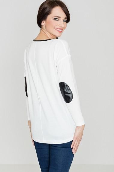 Bluza Lenitif GLB-K118-Ecru Ecru - els