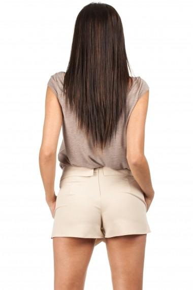 Pantaloni scurti Made of Emotion M091 BEIGE Bej