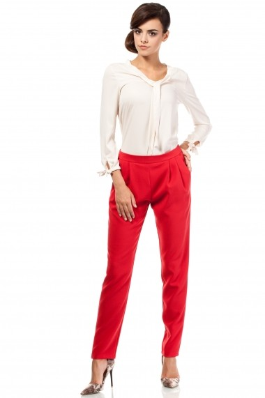 Pantaloni Made of Emotion GLB-M195 red Rosu
