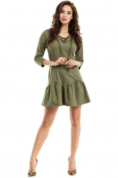 Rochie Made of Emotion GLB-M244 khaki Kaki