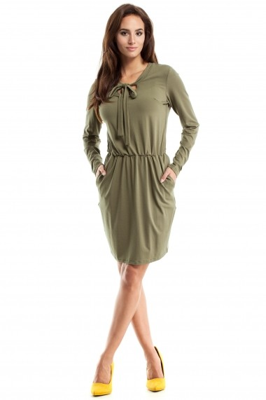 Rochie Made of Emotion GLB-M252 khaki Kaki