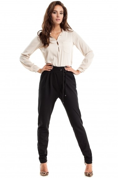 Pantaloni Made of Emotion M256 black Negru - els